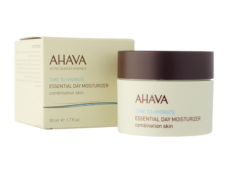 Ahava Essential Day Moisturizer Review Packaging Natural Beauty Wise Up