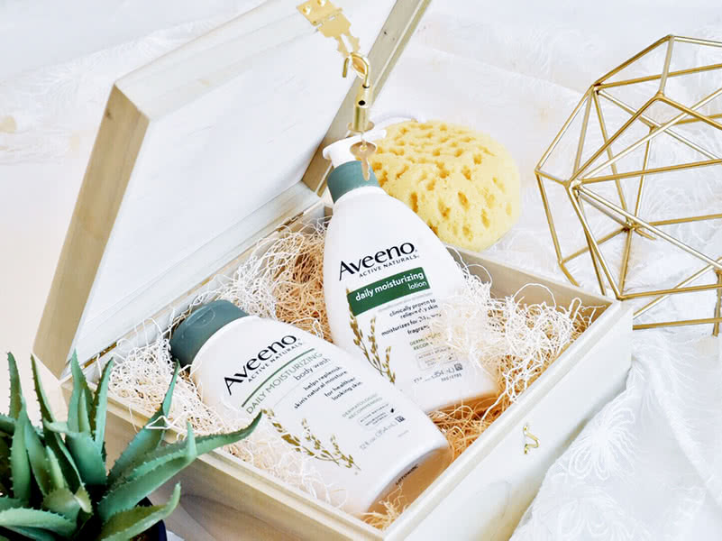 Aveeno Daily Moisturizing Lotion Review Natural Body Beauty Wise Up