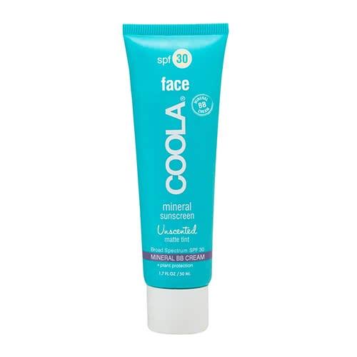 COOLA Mineral Face SPF 30 Matte Tint Moisturizer BB Cream