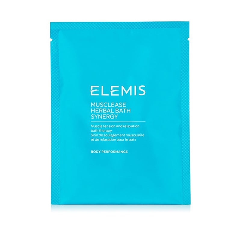 Elemis Musclease Herbal Bath Synergy Review Sachet Packaging Natural Beauty Wise Up
