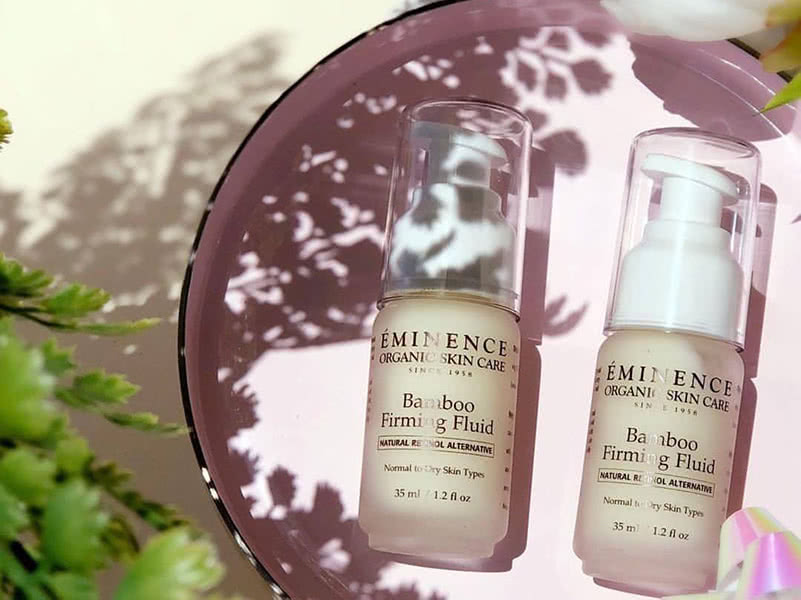 Eminence Bamboo Firming Fluid Review Natural Beauty Wise Up