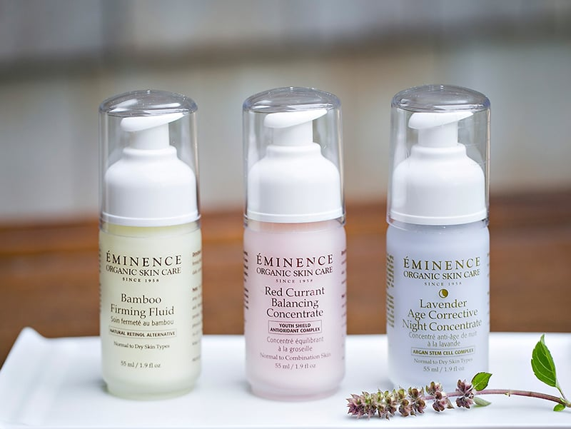 Eminence Bamboo Firming Fluid Review Natural Skincare Beauty Wise Up