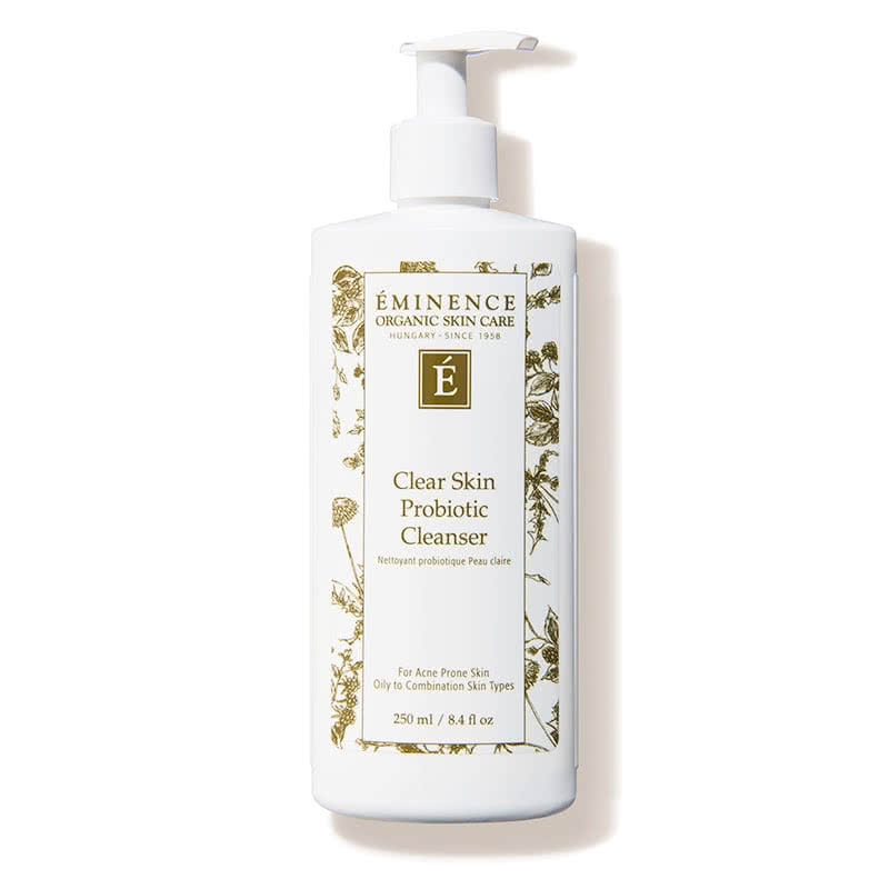 Eminence Clear Skin Probiotic Cleanser Review Packaging Natural Beauty Wise Up