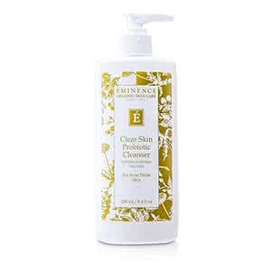 Eminence Clear Skin Probiotic Cleanser Review Product Shot Natural Beauty Wise Up