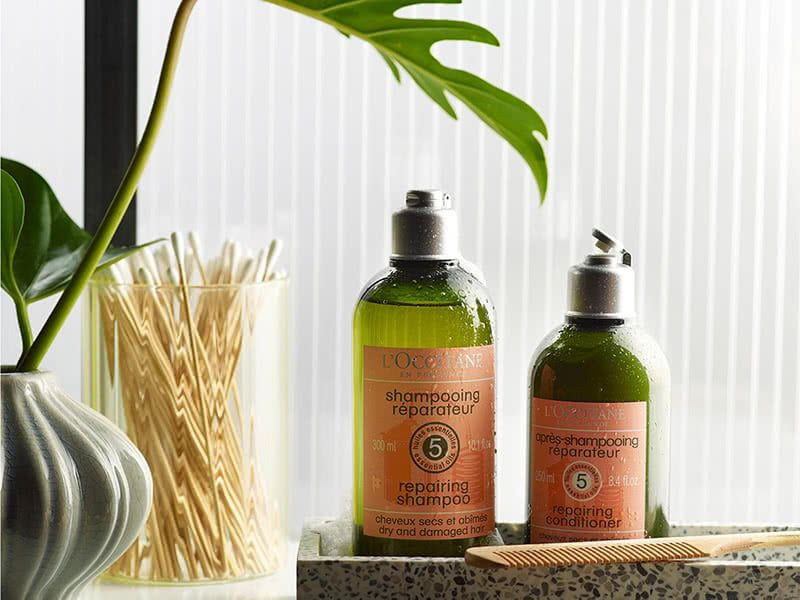 LOccitane Aromachologie Repairing Shampoo Review Natural Beauty Wise Up