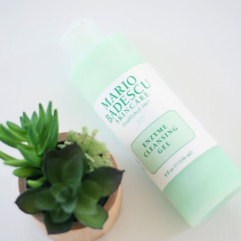 Mario Badescu Enzyme Cleansing Gel Review Skin Care Beauty Wise Up