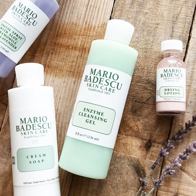 Mario Badescu Enzyme Cleansing Gel Review Skincare Beauty Wise Up