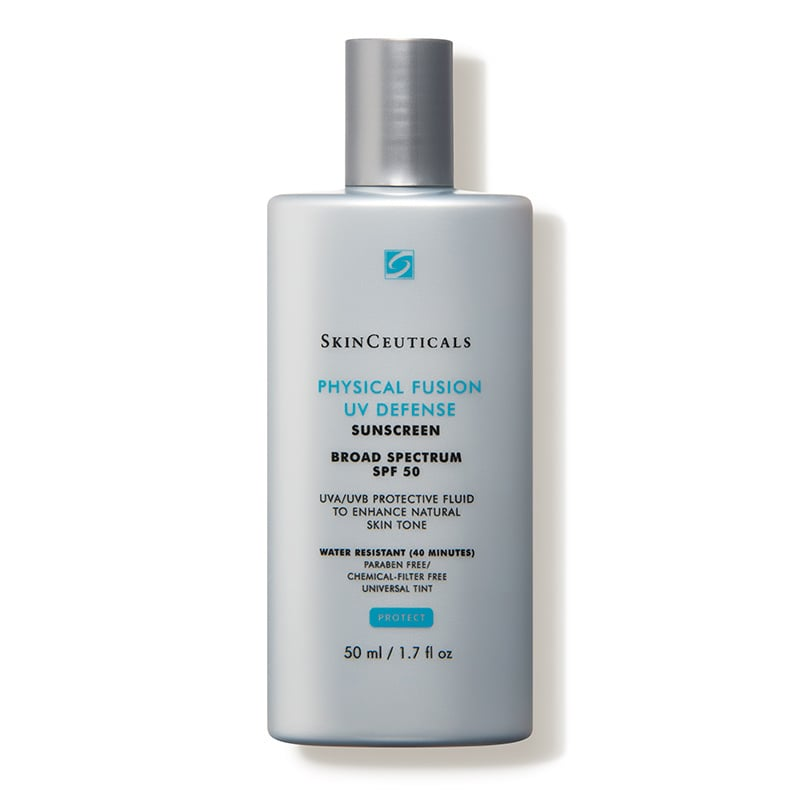 SkinCeuticals Physical Fusion UV Defense SPF 50 Review Packaging Natural Beauty Wise Up