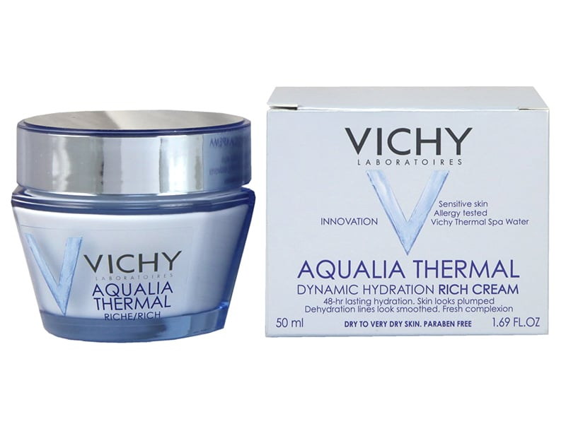 Vichy Aqualia Thermal Rich Cream Review Packaging Natural Beauty Wise Up