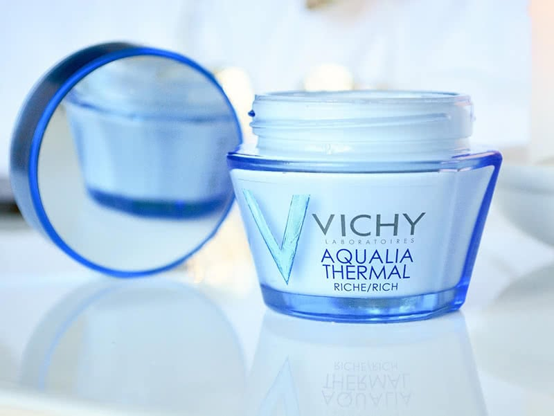 Vichy Aqualia Thermal Rich Cream Review Skin Care Natural Beauty Wise Up