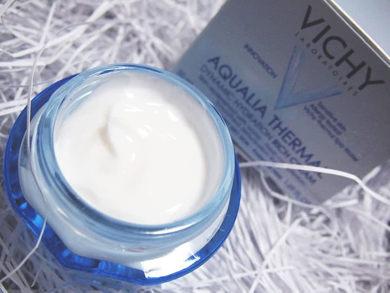 Vichy Aqualia Thermal Rich Cream Review Texture Natural Beauty Wise Up