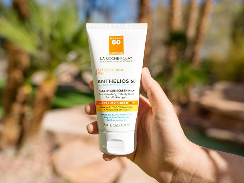 La Roche-Posay Anthelios Melt In Sunscreen Milk Review Beauty Wise Up