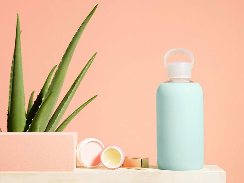 bkr glass water bottle beauty wise up