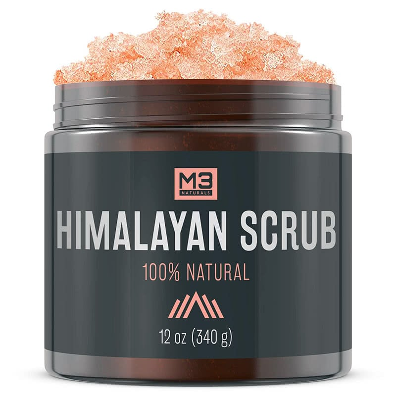 dull skin treatment Premium Himalayan Scrub with Lychee Sweet Almond Oil - Beauty Wise Up
